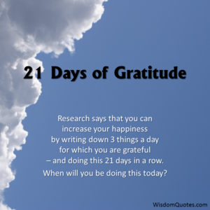 Gratitude Diet 1
